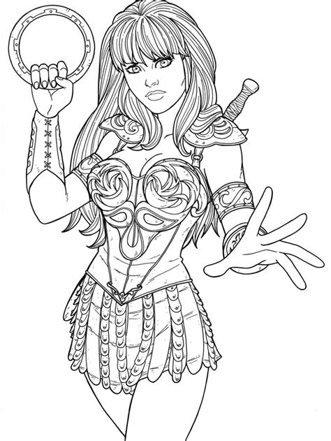 Warrior Princess Coloring Pages Free Coloring Pages 7 Images Of Warrior Princess Coloring Pages Princess