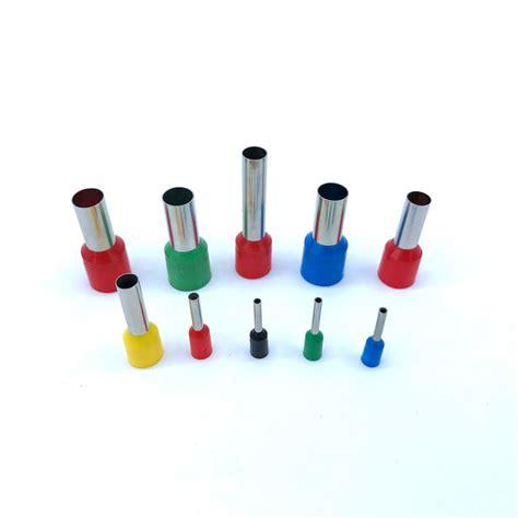 insulated ferrules terminal block 100pcs pack e0508 e7508 e1008 e1508 cord end wire connector