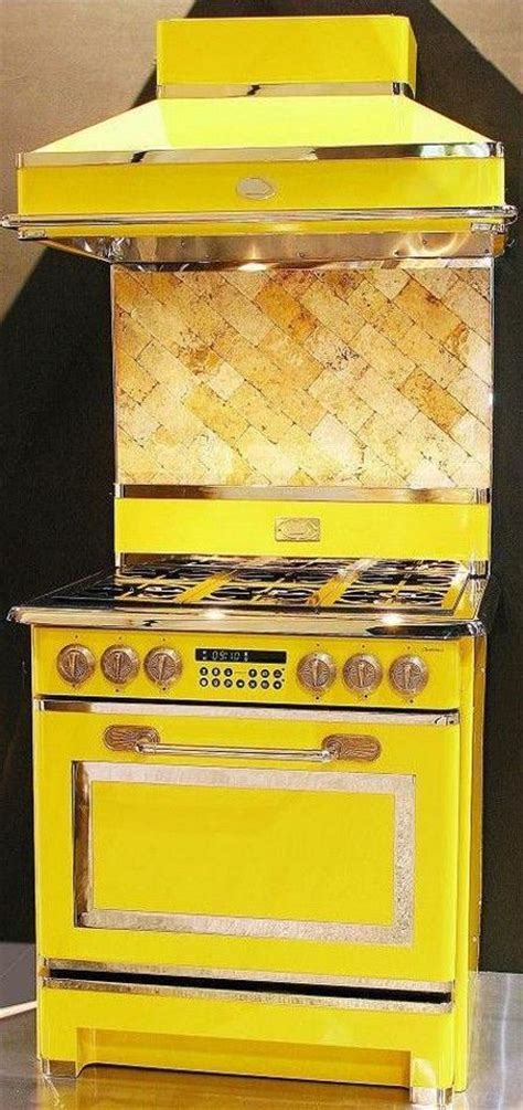 yellow kitchen appliances 17 best images about unique color appiances on pinterest