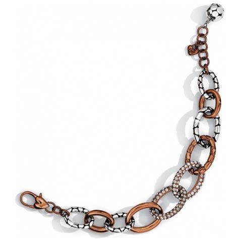 Tableware S86 pebble pebble pave link bracelet bracelets