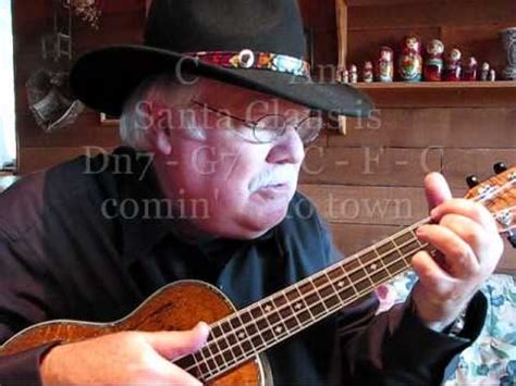 ukulele lessons youtube santa claus is coming to town ukulele lesson tutorial