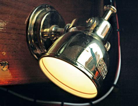 boat cabin lights led restoration of nereis part 7 electrics classic boat