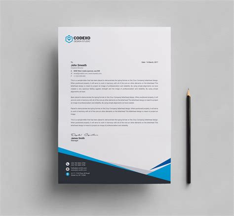 corporate template mira professional corporate letterhead template 000908