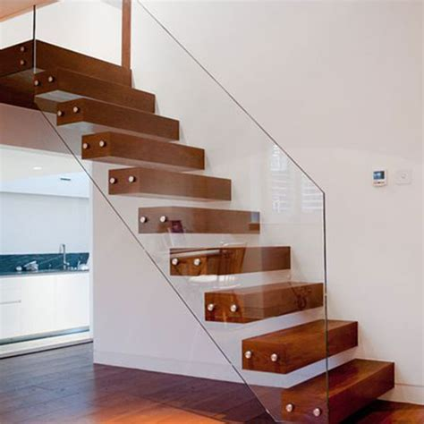 floating stairs floating stair solid wood treads floating stair glass