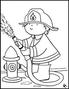 fire fighting coloring pages coloring pages ideas