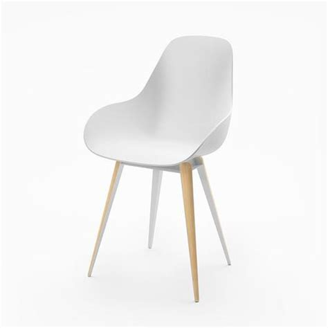 modern classic slice dimple chair in white 212concept