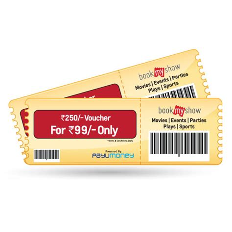 bookmyshow voucher bookmyshow voucher worth 250 for just 79 shopclues