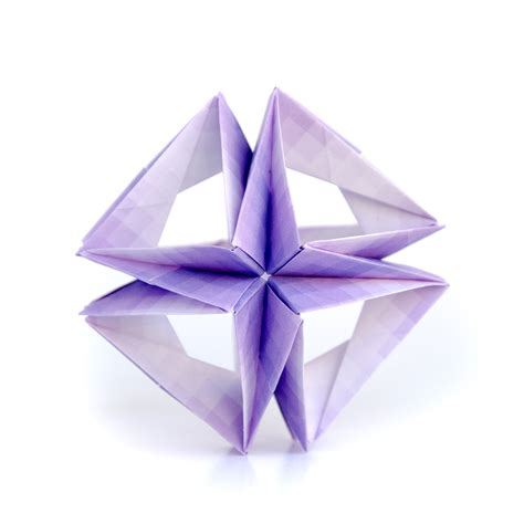 Origami Kusudamas - this week in origami black friday edition
