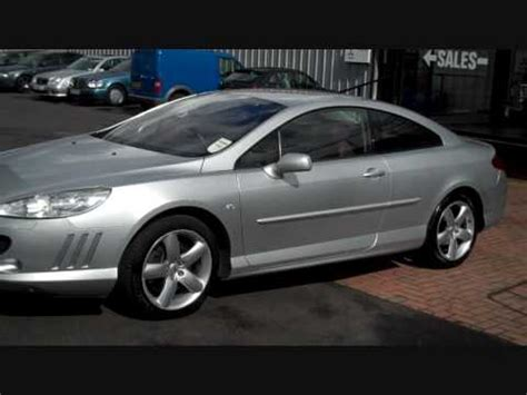 peugeot 407 coupe 2007 2007 peugeot 407 gt coupe 2 7 hdi v6 exterior youtube