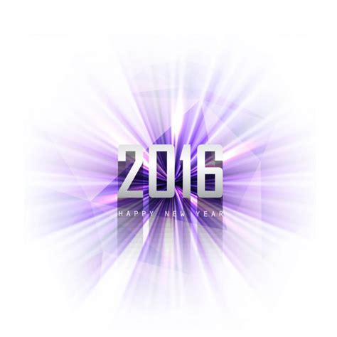 new year 2016 white background bright new year 2016 purple background vector free