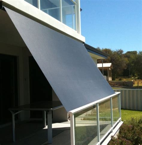 Remote Control Awnings Exterior Roller Blinds