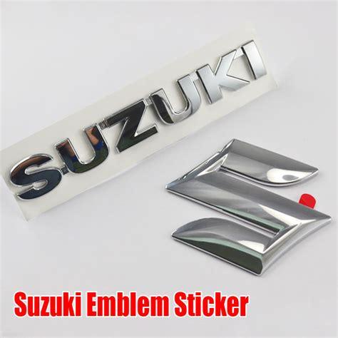 Suzuki Car Emblem Toptan Alım Yapın Suzuki Araba 231 ıkartmaları 199 In Den