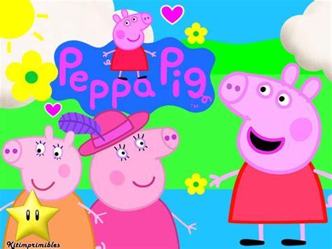 kit imprimible de peppa pig kit imprimible peppa pig la cerdita dise 241 225 tarjetas y bs 828 000 00 en mercado libre