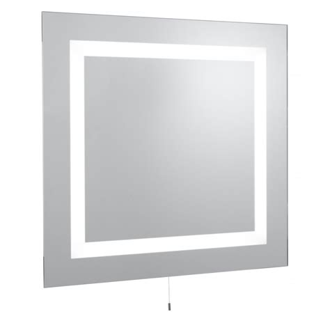 lightweight bathroom mirror illuminated mirrors 8510 wall mirror light