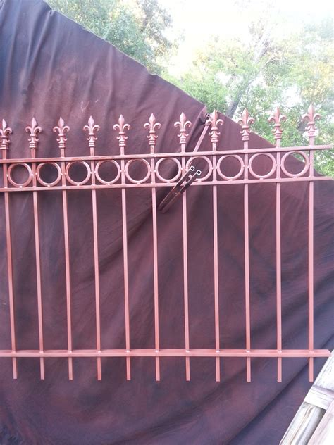 fence gutter cleaning wrought iron fences railings ultimate siding gutters