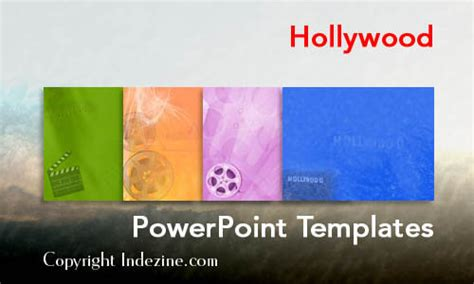 hollywood powerpoint templates