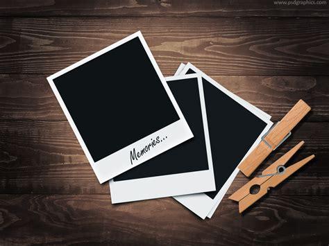 design a frame in photoshop retro polaroid frames psd plus tutorial psdgraphics