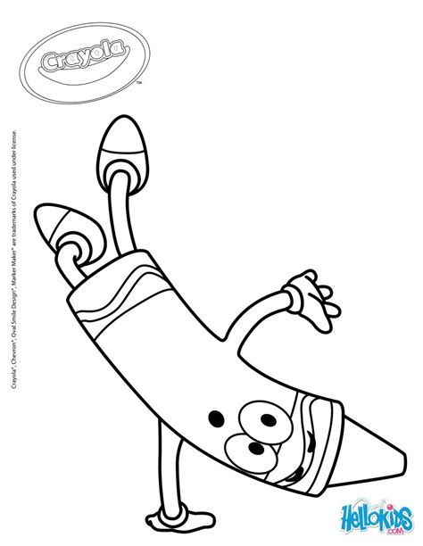 crayola 18 coloring pages hellokids com