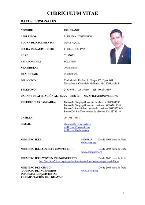 Difference Between Resume And Curriculum Vitae
