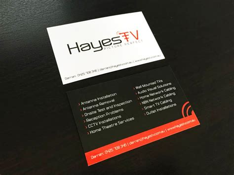 website design berwick business cards signage hayes tv