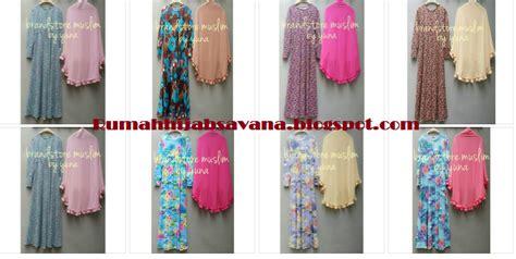 Hanifah Syari By Azzahra Store by Rumah Savana Daliya Syar I Ori Brandstore Muslim Yuna