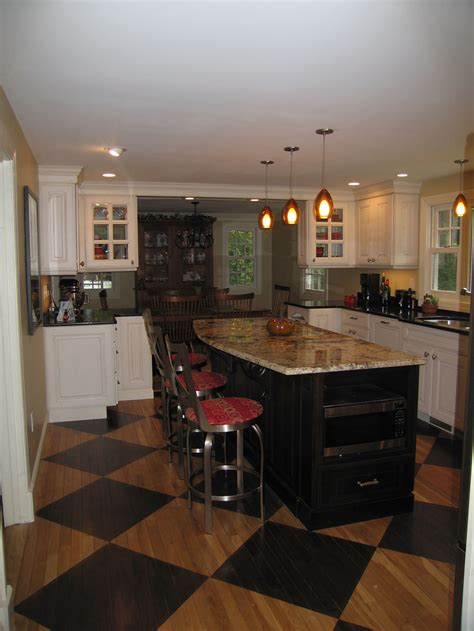 converting  dining room  kitchen   large