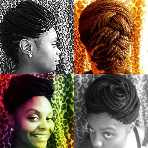 how to pin up box braids 3 ways to do pin up hairstyles wikihow rachael edwards