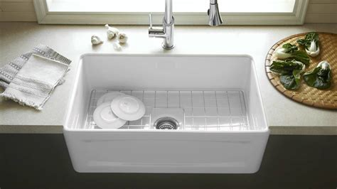White Sink Kitchen How To Choose White Kitchen Sink Midcityeast