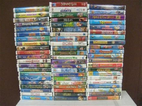 The Brave Little Toaster Songs Huge Lot 64 Kids Clamshell Vhs Toy Story Aladdin