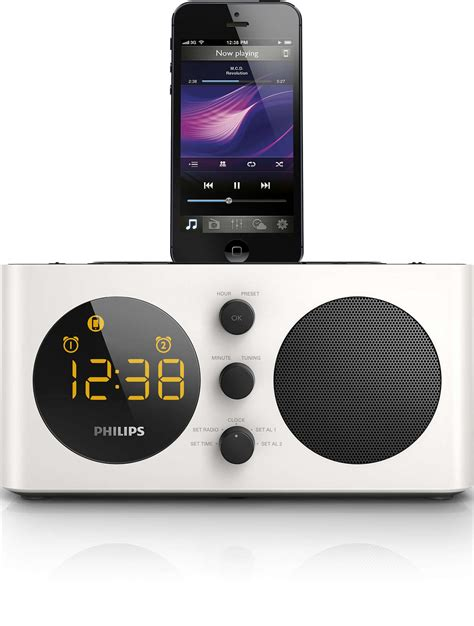 Alarm Clock Philips alarm clock radio for ipod iphone aj6200d 98 philips