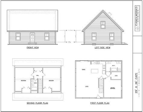 Structural Insulated Panel Home Plans | panelworks design structural insulated panel sip home