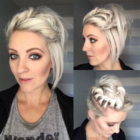 how to wrap a short bob hair cut quick wrap around twist youtube emily anderson hair