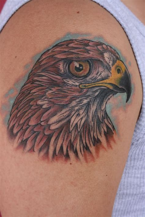 nick hawk tattoo hawk by nick photo by southtxbowhunter