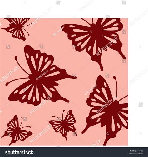 butterfly pattern stock butterfly pattern stock vector illustration 5946652