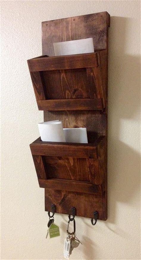 wall mounted key wooden entrancing 25 wall mail organizer inspiration of 25