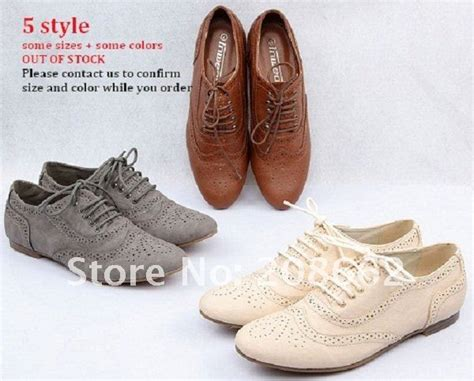 cheap womens oxford shoes brand discount retro unisex flat oxford shoes