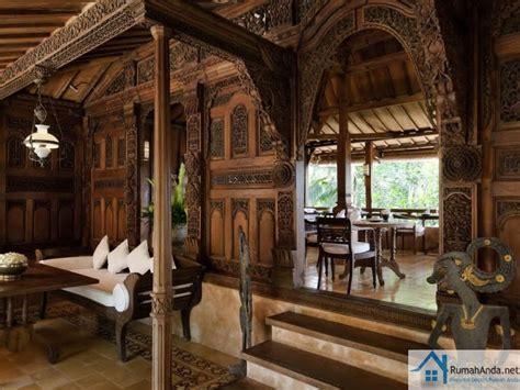 Kayu Jawa contoh desain interior rumah kayu jawa rumah