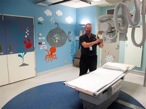 Child Room Design by Underwater Magic For Sick Children Peninsula Health