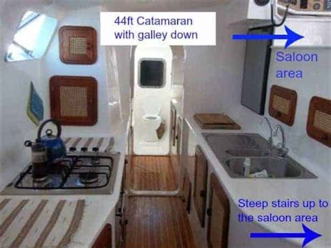 catamaran galley design galley design issues on a catamaran the boat galley