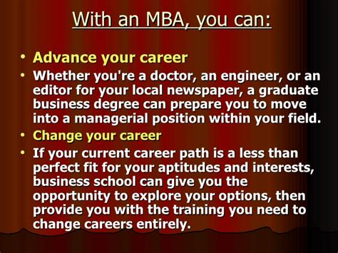 What Can You Do With An Md Mba by Manish Mba