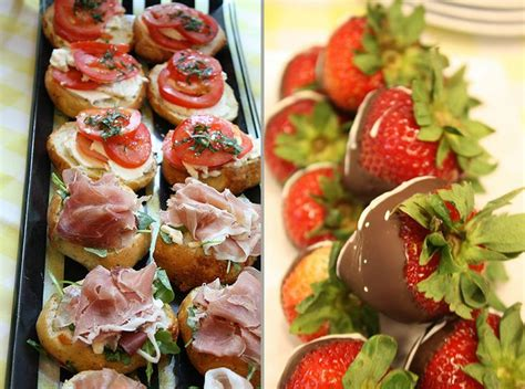 christmas themed hors d oeuvres bridal shower hors d oeuvres bridalshower horsdoeurves blissparties blisschicago bliss