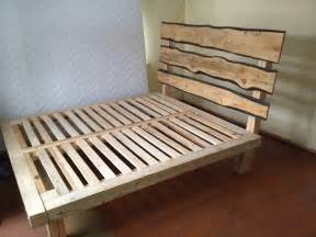 Bed Frame Diy Plan Diy Platform Bed Frame Woodworking Projects
