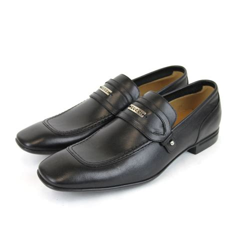 620 new authentic gucci mens leather dress shoes loafer w