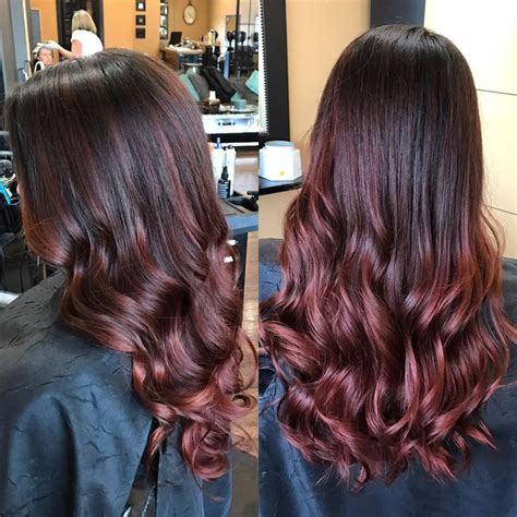 rose gold lowlights on dark hair rose gold lowlights on dark hair rose gold highlights in