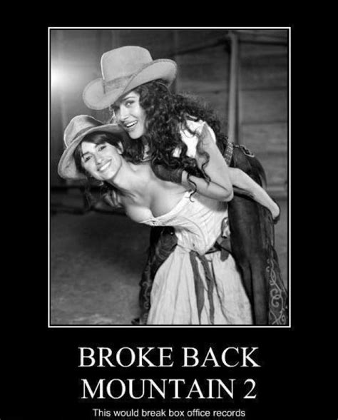 Broken Back Meme - brokeback mountain meme guy
