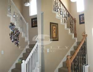 Stair Remodel by Stair Remodel Before Amp After Entryway Ideas Pinterest