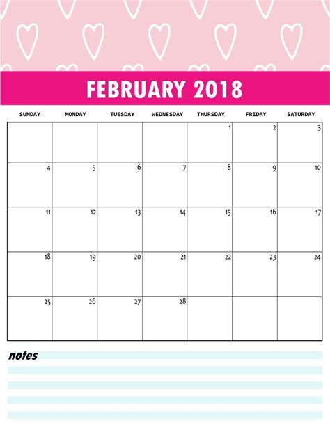 Galerry free cute printable planner 2018