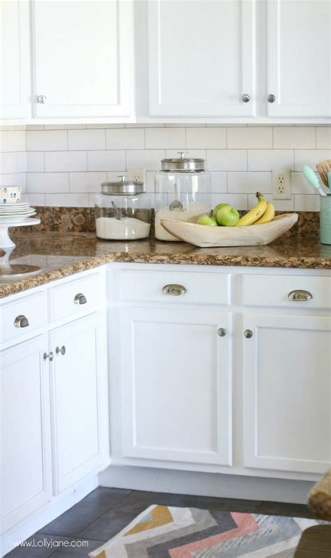 installing subway tile backsplash in kitchen faux subway tile backsplash wallpaper