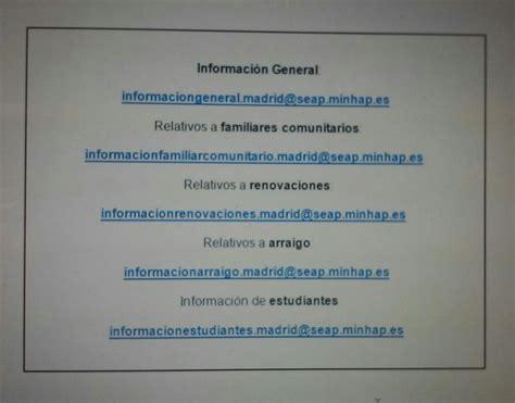 oficina extranjeria informaci 243 n tr 225 mites extranjer 237 a madrid blog extranjer 237 a