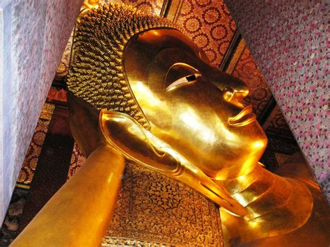 largest reclining buddha in the world admiring thailand s largest reclining buddha in wat pho